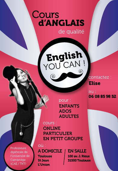 Elise english you can for Maitrise d ouvrage en anglais